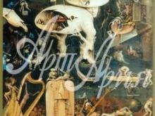 1011_80x33 Босх И - Сад земных наслаждений (левая створка триптиха)