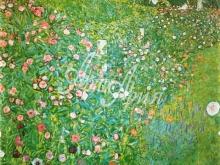 1017_70x70 Климт Г - Цветочный сад