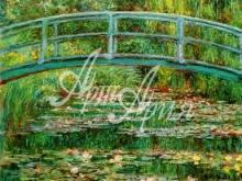 1018_100x124 Моне К - Японский мостик