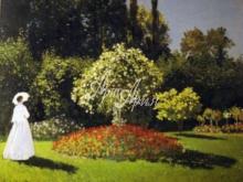 Моне К - Дама в саду Сент-Андресс