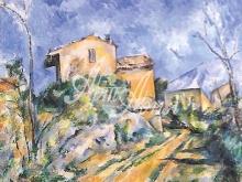 1089 Сезанн П. - Дом Марии с видом на Шато Нуар