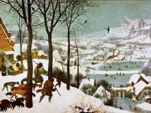 1094_100х71_П. Брейгель (Старший) - Охотники на снегу