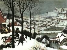 1094_62x45 Брейгель П - Охотники на снегу (Возвращение охотников)