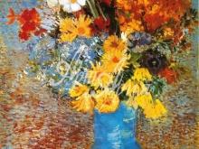1101_70х53 Ван Гог - Натюрморт из маргариток и анемонов в вазе