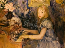 1142_70х56_Б.Моризо- Люси Леон за фортепиано