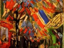 1171_45х38 Ван Гог - 14 июля, празднование в Париже