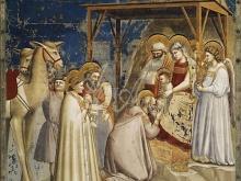 1239 _ 45х45 Джотто ди Бондоне «Сцены из жизни Иисуса Христа»