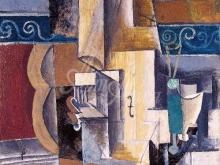 1241_66х55_П.Пикассо - Гитара и скипка