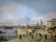 1290_80х60_Каналетто А. Дж.- Вход на Гранд-канал с Моло, Венеция