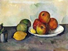 1303_50х38_Поль Сезанн -Натюрморт с яблоками