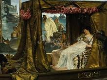 1309_50х70_Л. Альма-Тадема - Встреча Антония и Клеопатры