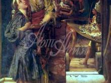 1310_46х70_Л. Альма-Тадема - Прощальный поцелуй