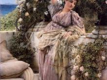 1317_40х24_Л. Альма-Тадема - Самая прекрасная роза
