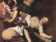 1336_70х53_Микеланджело Караваджо - Распятие Св. Петра
