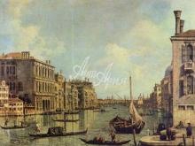 1343_70х54_Антонио Каналетто -Вид с Большого канала на гавань Сан Марко