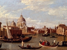 1346_40х21_Бернардо Белотто - Венеция