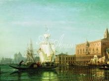 1348_35х22_Боголюбов А.П. - Венеция