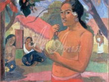 1358_100х79_Поль Гоген - Женщина, держащая плод