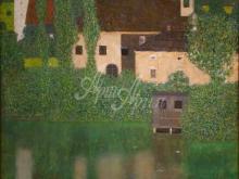 1373_50х49_Г. Климт - Замок, окруженный рвом