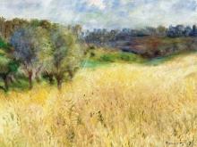 1392_70х57_Ренуар О. - Пшеничное поле