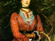 1400_60х42_Дж. Э. Миллес - Мисс Эвелин Теннант