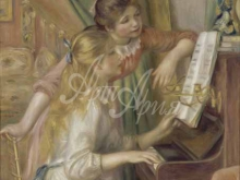 1415_85х64_О. Ренуар - Девушки за фортепиано
