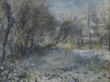 1417_80х62_О. Ренуар - Заснеженный пейзаж
