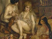 1422_70х58_О. Ренуар - Парижанки в алжирских костюмах