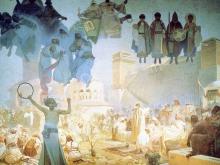 1432_50х35_А. Муха - Ведение славянской литургии