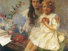 1434_50х50_А. Муха - Ярослава и Джири