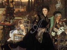 1529_65х46_Жак-Жозеф Тиссо - Вдова