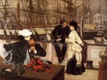 1532_65х48_Жак-Жозеф Тиссо - Капитан и помощник