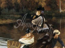 1538_65х53_Жак-Жозеф Тиссо - Осень на Темзе