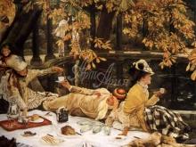 1541_65х53_Жак-Жозеф Тиссо - Пикник