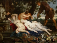 1550_80х58_Рубенс и Франс Снейдерс - Кимон и Ифигения
