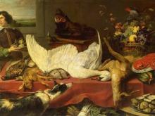 1563_70х48_Франс Снейдерс - Натюрморт с лебедем