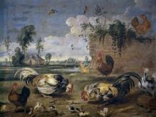 1565_80х63_Франс Снейдерс - Петушиный бой