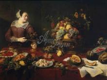 1566_70х49_Франс Снейдерс - Продавщица фруктов