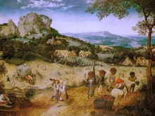 1576_110х78_П. Брейгель (Старший)- Сенокос - июль