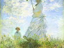 thumbs 1014 98x80 k mone dama s zontikom progulka Моне Оскар Клод (Claude Monet)