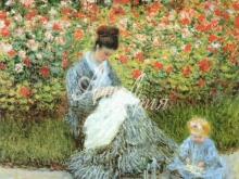 thumbs 1079 66x55 k mone madam mone s rebyonkom Моне Оскар Клод (Claude Monet)