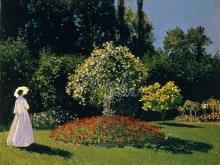 thumbs 1091 60h48 mone k dama v sadu sent andress kopiya Моне Оскар Клод (Claude Monet)