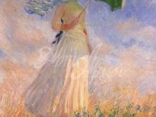 1285_40х26_ Моне К. - Дама с зонтиком.Поворот направо