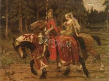 1452_60х46_А. Муха - Геральдический рыцарь
