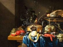 1081_60x42 Ян Паувель Гиллеманс Младший. Натюрморт с фруктами