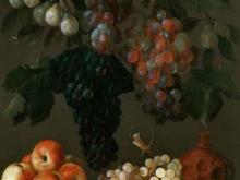 1473_90х66_Эспиноса, Хуан Баттиста де -- Натюрморт с виноградом, яблоками и сливами