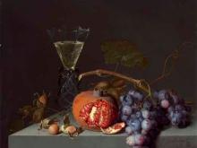 1476_90х78_Якоб ван Валскапелл - Натюрморт с фруктами