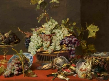 1477_100х125_Франс Снейдерс - Натюрморт с виноградом и добычей