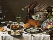1479_100х180_Питер Клас - Натюрморт с пирогом из индейки