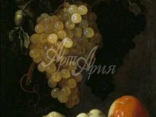 1490_75х60_Эспиноса, Хуан Баттиста де - Натюрморт с виноградом и яблоками